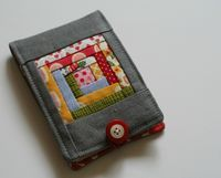 Log Cabin Needlebook