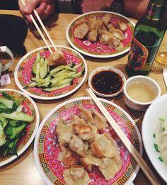Restaurant Raviolis, Paris, Guo Xin, Belleville, Dumplings