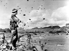July, 17th 1953, around 8:00 am. Lieutenant Rivier, Chief medic of the 6e BPC (Bataillon de Parachutistes Coloniaux) watches his unit landing North of Land Son, near the Colonial Road number 4 (RC4). Their mission is to destroy the stocks of Viet...