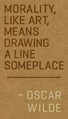 Oscar Wilde on Morality | Flickr - Photo Sharing!