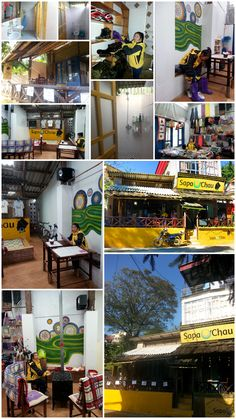 Welcome to Sapa O'Chau Cafe! A place for checking out trekking and homestays; interacting with other travellers; and learning about how you can help the ethnic minorities in Sapa, #Vietnam #socent.
