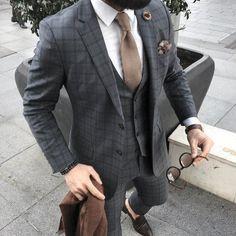 Brauner mantel manner