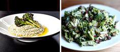 Broccoli Hummus and Salad