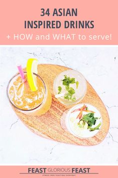 This collection of Asian Inspired Drinks has something for everyone. I've even included bubble tea! You'll find your perfect accompaniment to any feast! Classic Cocktails, Fun Cocktails, Fun Drinks, Cocktail Recipes, Matcha Smoothie, Coconut Smoothie, Thai Street Food, Indian Street Food, Matcha Green Tea Latte