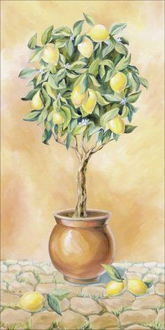 Tanja Kowak: Zitronenbaum I
