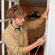 Want to save 10% to 15% on your energy bills? Learn the smart way to seal gaps around doors and windows with our essential guide to weatherstripping. Up House, House Doors, Door Weather Stripping, Soundproof Windows, Door Sweep, Home Repairs, Diy Home Improvement, Save Energy, Old Houses