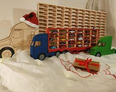 Hot Wheels Toy Car Storage, Display 60 Cars, Christmas or Birthday Gift Idea for boys Toy box storage Shelving in premium birch plywood Xmas Clothes Shelves, Toy Shelves, Pallet Shelves, Wine Glass Shelf, Glass Shelves Kitchen, Kitchen Storage, Hot Wheels, Toy Car Storage, Box Storage