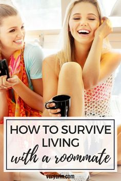 How to Survive Living With a Roommate For the First Time | College - Very Erin Blog