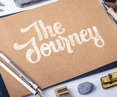 Typography and lettering sketches vol. III on Behance