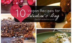 10+ Vegan Recipes for Valentine�s Day