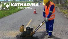 Prefeitura inicia operação Tapa buracos em parceria da Katharina Engenharia