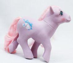 Vintage G1 My Little Pony G1 Lavender SATIN by RavensLoftVintage
