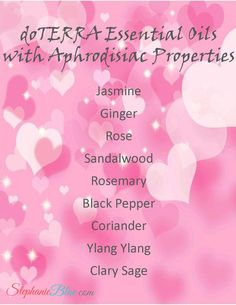 Essential Oils for Love & Romance - Stephanie Blue