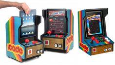 ION iCade ARCADE convierte tu iPad en una maquina recreativa http://buenespacio.es/ion-icade-arcade-convierte-tu-ipad-en-una-maquina-recreativa.html #gadgets #ipad #fundas #recreativas