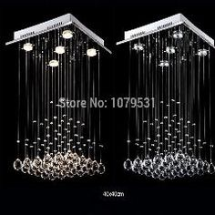 [ $20 OFF ] [D40Cm*h60Cm]Modern Luxury Crystal Chandelier With 5 Lights Pyramid Shape Luminaire Lustres De Cristal Pendant Lamp Chandeliers