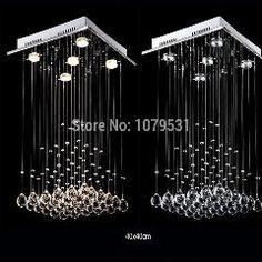 [ $20 OFF ] [D40Cm*h60Cm]Modern Luxury Crystal Chandelier With 5 Lights Pyramid Shape Luminaire Lustres De Cristal Pendant Lamp Chandeliers