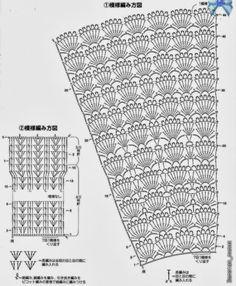 FIFIA CROCHETA blog de crochê : bolero lindo de crochê com gráfico