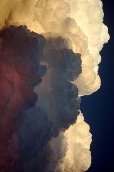 { i n s p i r a r e } Clouds sky purple white blue violet cumulus