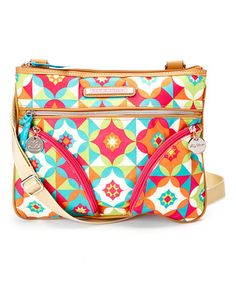 Look at this #zulilyfind! Shape Up Twin Pocket Crossbody Bag by Lily Bloom #zulilyfinds