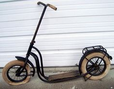 Old German Kick Scooter: