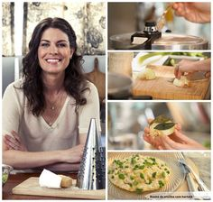 """Risoto de ervilha e hortelã feito na panela de pressão. Receita de Rita Lobo, """"Cozinha Prática"""""""