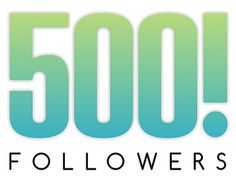 Woooohoooo We have just hit over 500 Followers. Thank you all so much for the support :) :) #DedicatedFollowers #Ireland #Embroidery #ThankYou