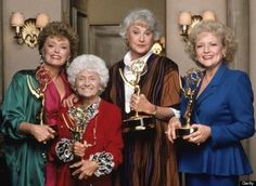 """14 Things You Never Knew About The Golden Girls: Each member of the cast won an Emmy for their performance - a feat only accomplished by two other shows """"All In the Family"""" and """"Will & Grace."""""""