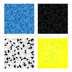 triangles lines tile pattern display seamless