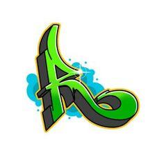 Graffiti Letter R, Graffiti Letters Styles, Graffiti Lettering Fonts, Graffiti Designs, Hand Lettering Fonts, Lettering Design, Flower Drawing Tutorials, Cool Art Drawings, Visual Communication