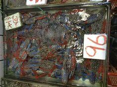 Granchi al Mercato dei frutti di mare