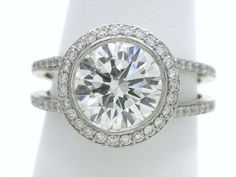 split shank vintage engagement rings - Google Search