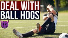 How To Deal With Ball Hogs In Soccer Soccer Drills For Kids, Soccer Skills, Soccer Tips, Football Gif, Copyright Music, Soccer Ball, European Football, European Soccer, Soccer