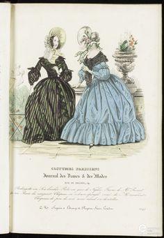 Costume parisiens Fashion Plates, Costume, Victorian Fashion, Dame, Journal, History, Antiques, Parisians, Antiquities