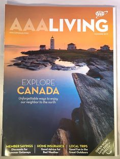AAA Living Magazine Lot 7 2015 2016 See Details | eBay