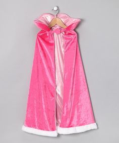 Pink Princess Cape by Story Book Wishes - perfect for dressing up as Sleeping Beauty!