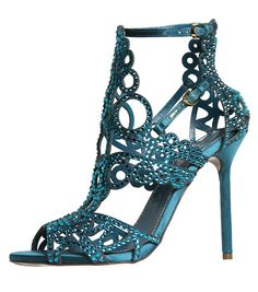 Sergio Rossi Resort 2013 Frm bd: Shoes, shoes and more shoes Hot Shoes, Shoes Heels, Blue Heels, Blue Sandals, Lila Gold, Christian Louboutin, Sergio Rossi Shoes, Modelos Fashion, Shoe Art