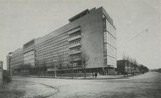 Panteleimon Golosov, Pravda newspaper factory, designed 1920s built 1930-1935