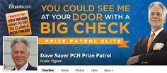 fb.com/DavePCHPrizePatrol https://www.facebook.com/DavePCHPrizePatrol