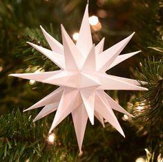 "Oh My Stars! Moravian Stars! - Paper Star, 4.5"" I *love* Moravian Stars."