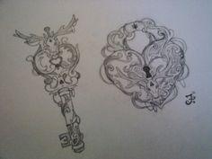 keyhole tattoo photos | design journal # tattoo illustrations # tattoo