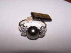 Mikimoto South Sea Pearl and Diamond Ring - $1200 (Exton)