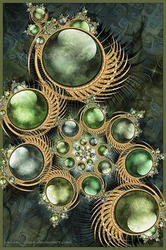 IA collage of 7 fractals Fractal bolls..#Sphere#Fractal#Orbball, sphere, bowl, globe, orb, glob, circle,