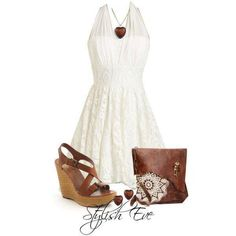 Cute simple little white dress