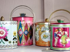 Lovely collection of vintage tins