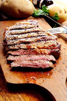 BBQ Tri-Tip Steak. Also try the marinade on pork loin, chicken breasts, or turkey.