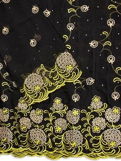 5 Yards Jacquard Lace Plus 2 Yards Voile Lace Set Black Fabric For Wedding/Bridal Dressmaking Material/Voile Africain Gift New Lace Fabrics French Lace, African Fabric, Lace Fabric, Dressmaking, Yards, Wax, Handmade Items, Fabrics, Bridal