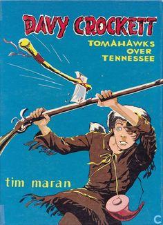 Tim Maran - Davy Crockett 6 Tomahawks over Tennessee