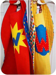 cape for student birthdays!  some good ideas for job board