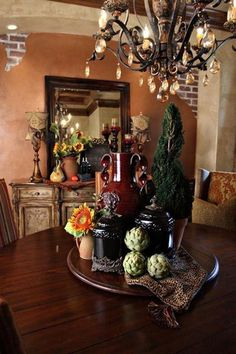 61 Magnificent Rustic Interior with Italian Tuscan Style Decorations - Page 31 of 63 Tuscan Design, Tuscan Style, Rustic Design, Tuscan Furniture, Tuscany Decor, Rustic Italian, Tuscan Decorating, Decorating Ideas, Decor Ideas