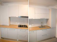 Interior Design Kitchen, Modern Interior Design, Kitchen Cabinets, Home Decor, Decoration Home, Modern Interior Decorating, Room Decor, Cabinets, Kitchen Interior